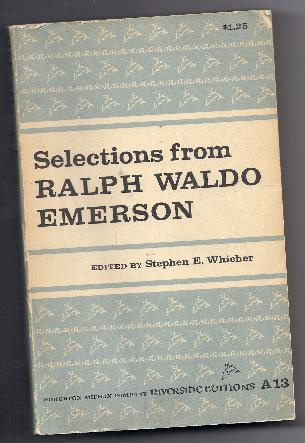 SELECTIONS FROM RALPH WALDO EMERSON