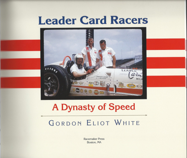 LEADER CARD RACERS by Gordon White