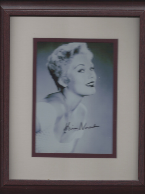 Kim Novak Autographed photo