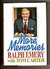 MORE MEMORIES by Raph Emery, Tom Carter